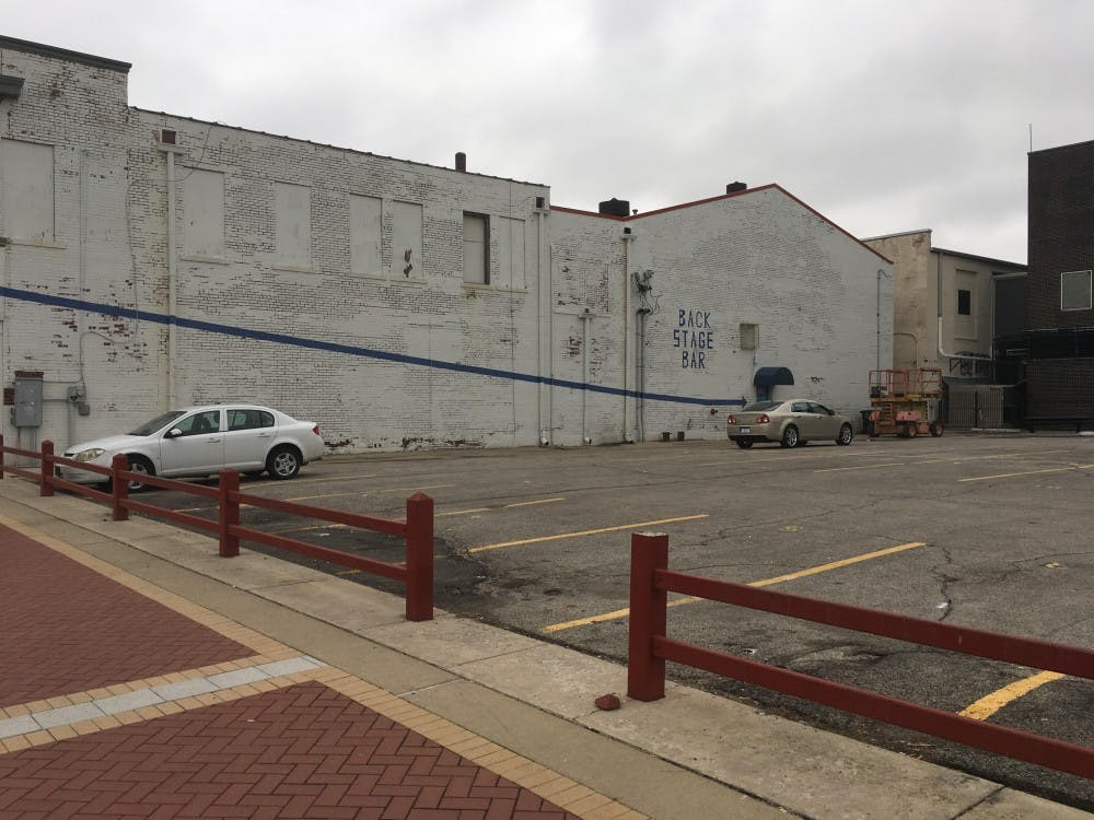 "<p>The We're Trying Collective and Muncie community will be painting a ""love note"" to the city of Muncie on the side of the Mark III Taproom this Saturday, May 13.&nbsp;<em>Andrew Harp // DN File</em></p>"