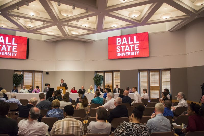 Ball State, Muncie community members offer input at presidential search forum