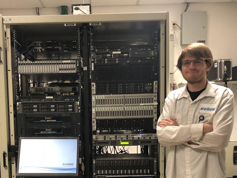 Ball State alumnus Aaron Whitfield has worked as a networking intern at Keihin North America for two years. Whitfield primarily provides technical assistance to workers at the Muncie branch of the business. Aaron Whitfield, Photo Provided