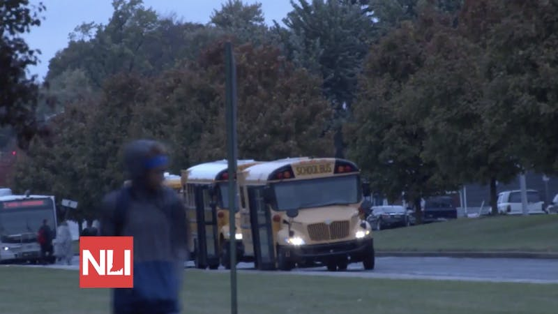 Ball State Police discuss National School Bus Safety Week