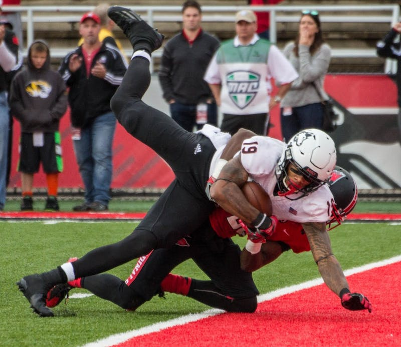 Golladay's big day lifts NIU over Ball State for 8th straight season
