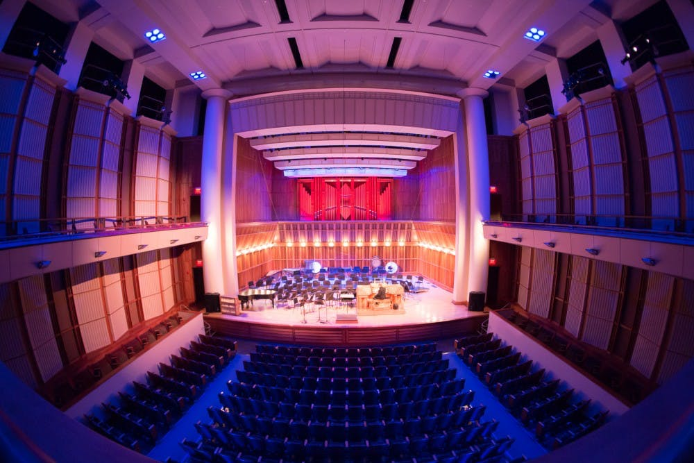 <p>The Ball State School of Music will host virtual concerts for the rest of the semester in light of its canceled public performances due to the COVID-19 pandemic. Kyle Crawford, DN File</p>