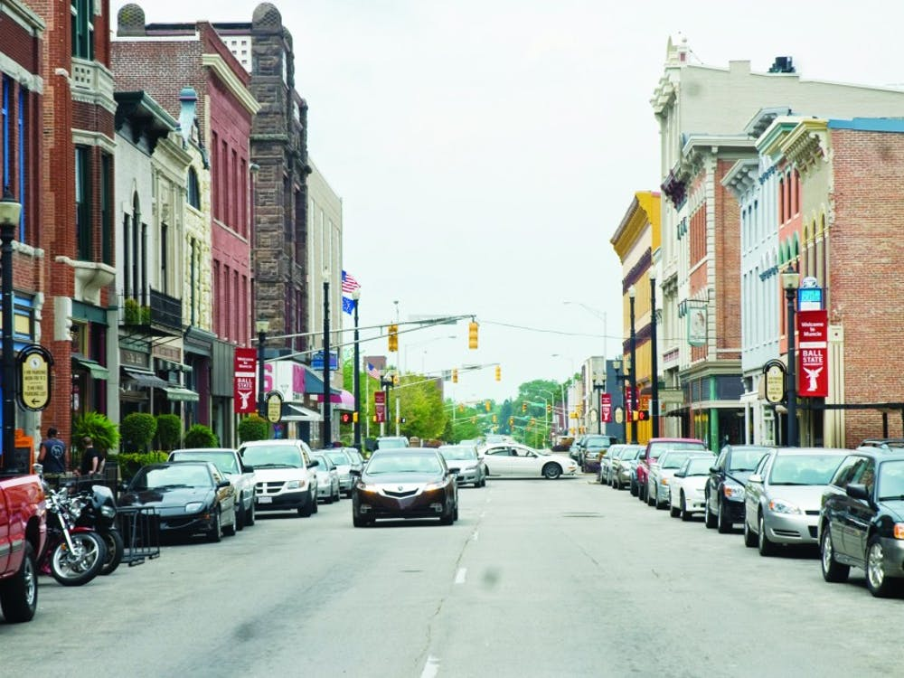 Downtown Muncie continues growing as new additions to the area bring more and more people to seek entertainment, food and shopping. Walnut Street is lined with bars, stores and galleries. DN PHOTO TYLER STEWART