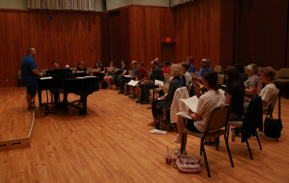Ball State, Muncie communities participate in summer chorus
