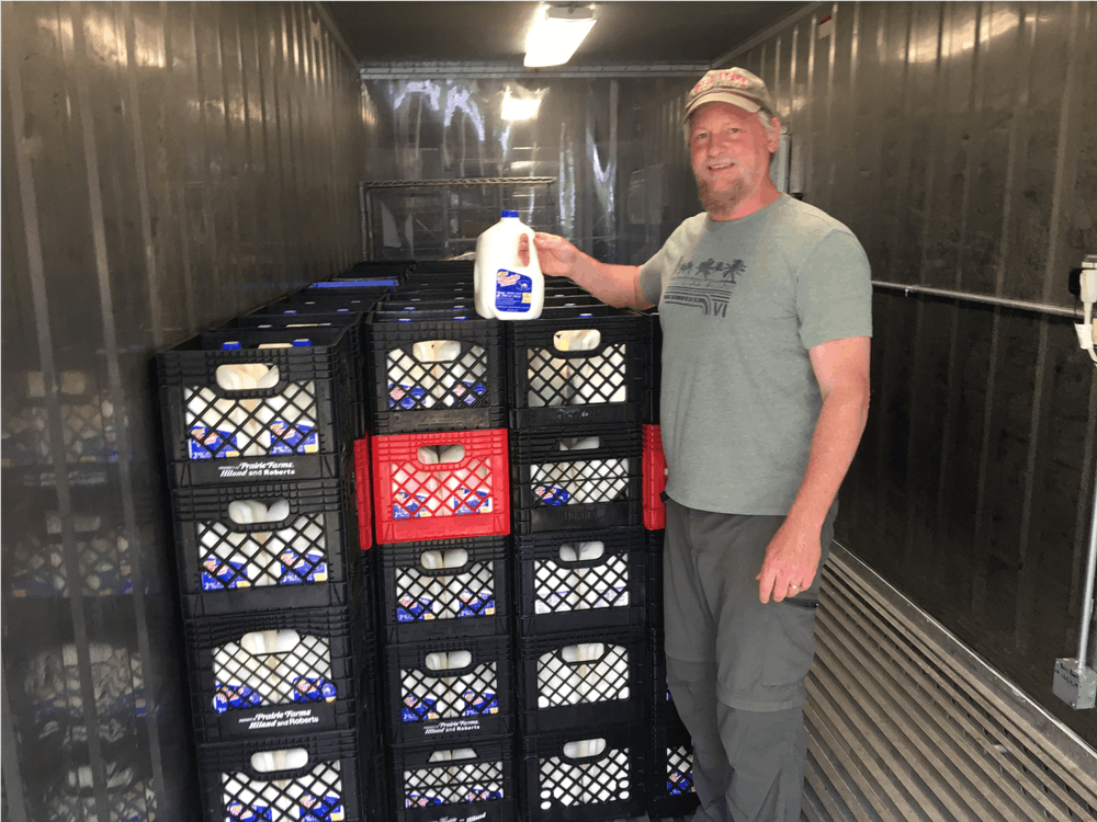 More than 5,000 gallons of milk distributed through Delaware County program