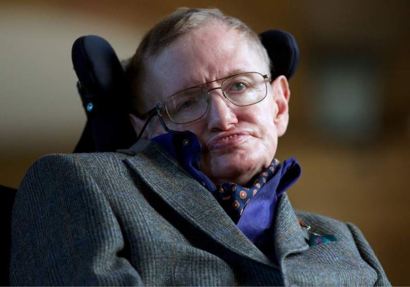 Stephen Hawking died peacefully at his home in Cambridge in England this morning, his family said. AP Photo, Photo Courtesy