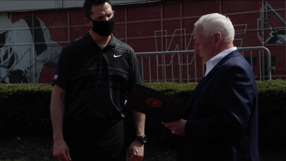VIDEO: Greg Pence Visits Ball State