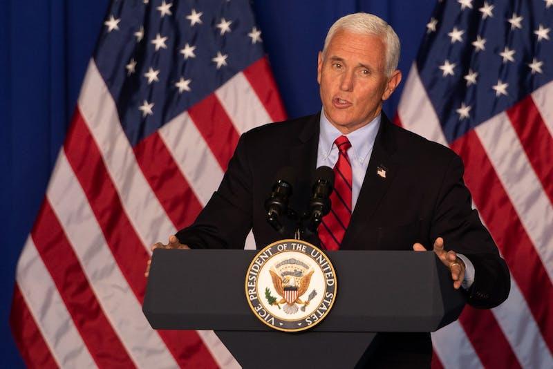 Vice President Mike Pence visits Fort Wayne