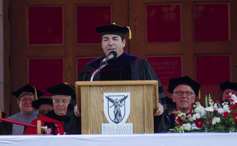 Ball State community says pull Schnatter's name, university decides otherwise