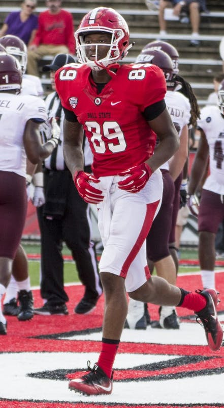 Ball State reveals depth at receiver in Week 2 win
