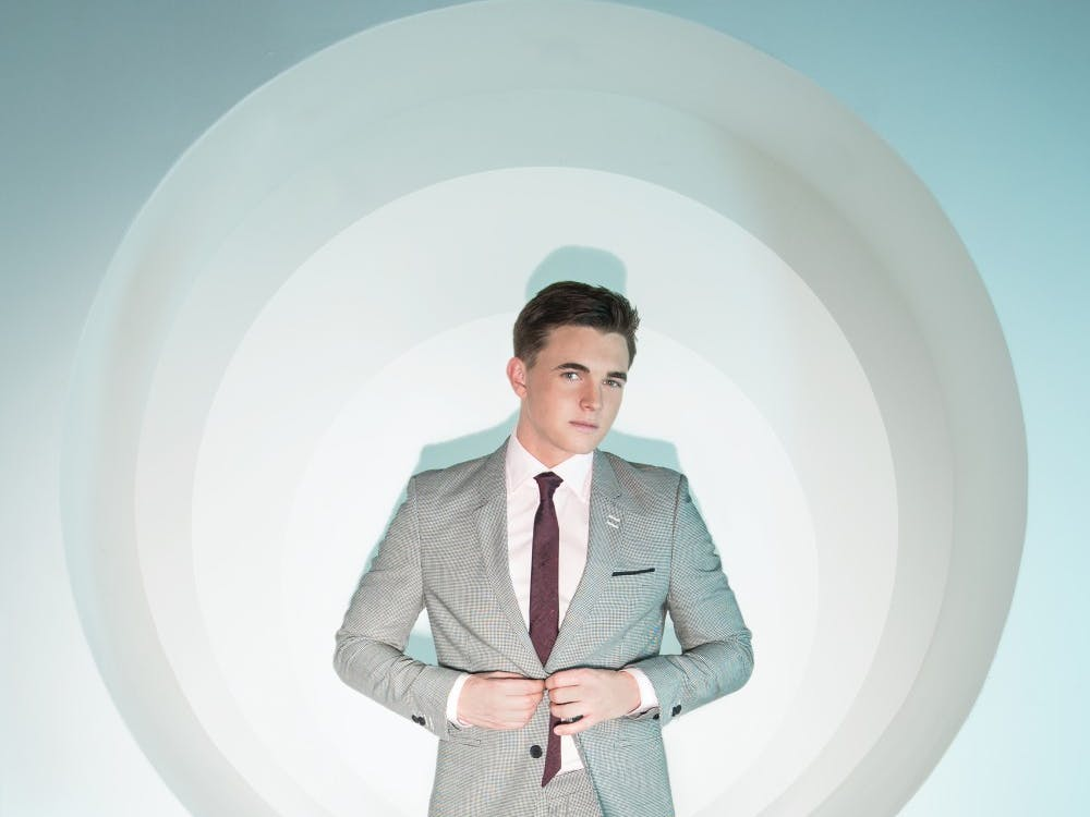Jesse McCartney will be performing on campus on April 18 at 7:30 p.m. in John R.Emens Auditorium. Tickets for McCartney's performance on campus will be available for presale for students only on Feb. 17 at 7 a.m. Kristi Chambers // Photo Provided