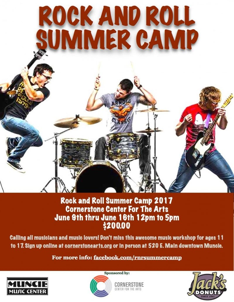 Rock and Roll Summer Camp // Facebook photo