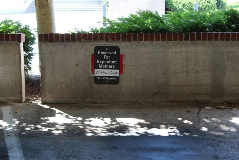 Ball State adds parking passes for expectant mothers