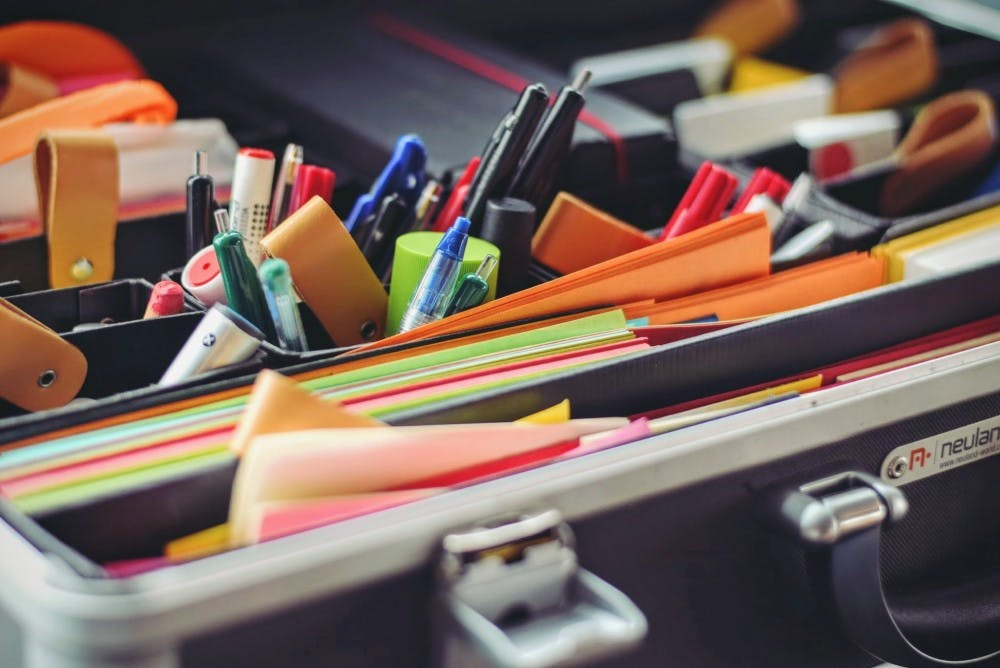 Do-it-yourself ways to start off the school year organized