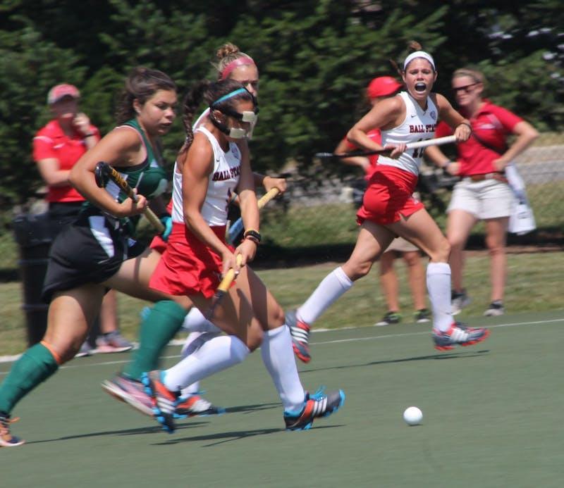 Field hockey falls to Boston University 2-1