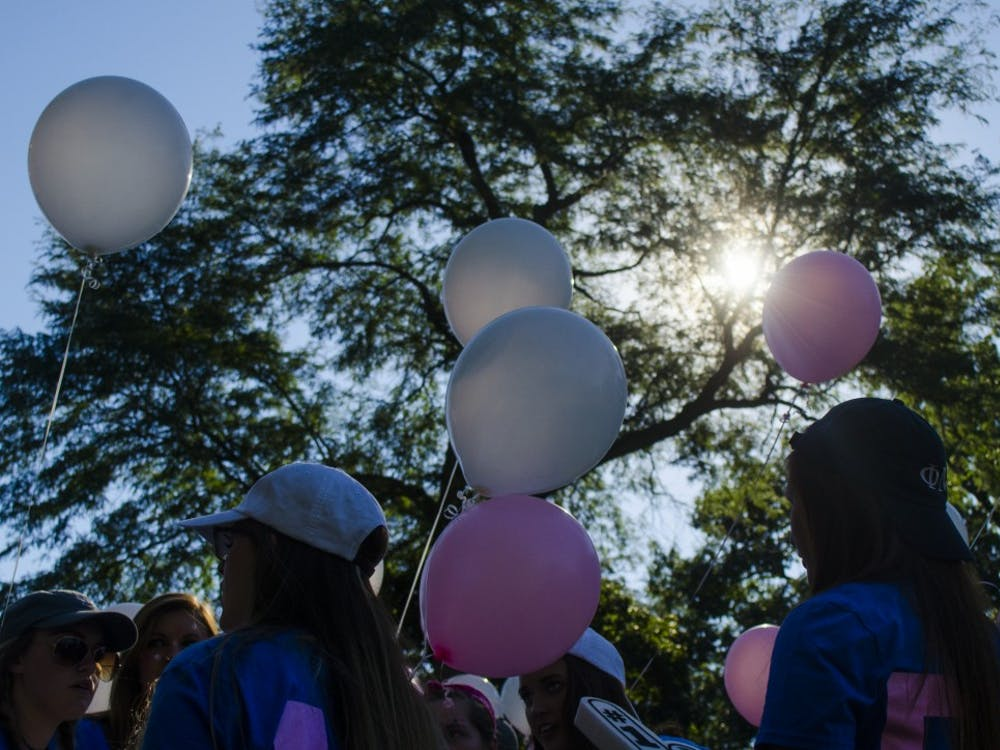 Bid Day took place on Sept. 14 in the Quad where sororities accepted their pledges.