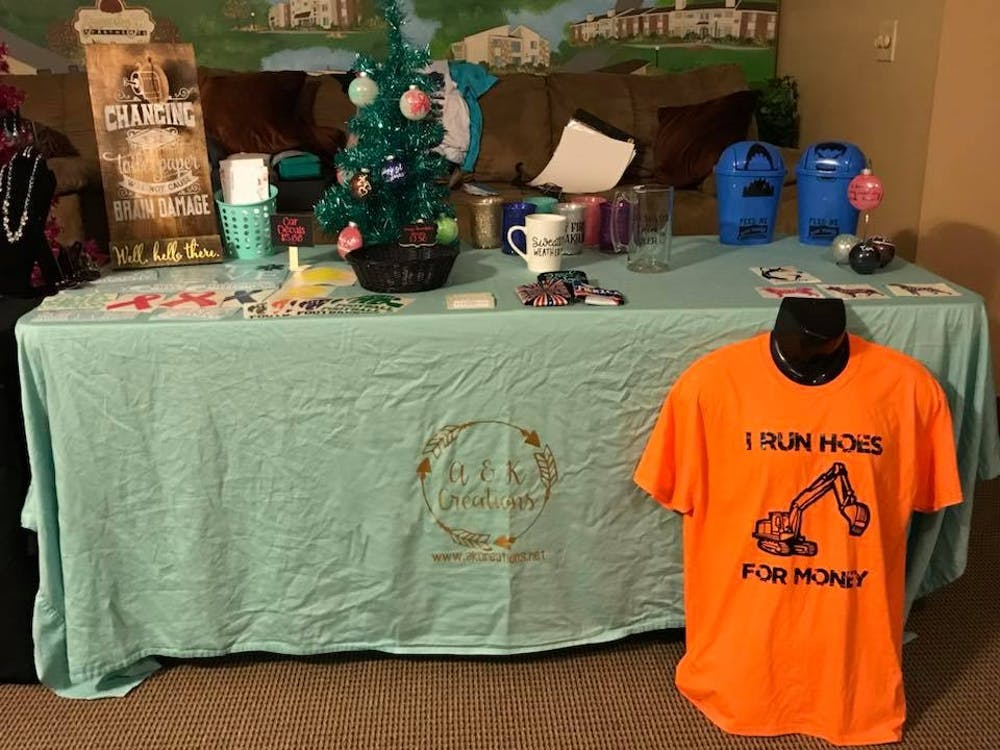 A & K Creations is one of several vendors that will be at the Holiday One Stop Chop event on Saturday. Photo Provided.