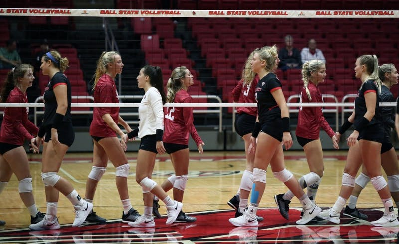 Women's Volleyball falls to Northern Illinois in the second match of the MAC season