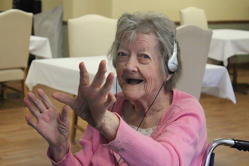 Music & Memory-Muncie helps nursing home residents
