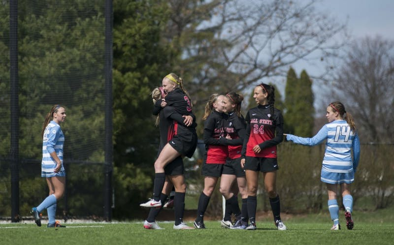 Ball State soccer starts spring schedule with pair of wins