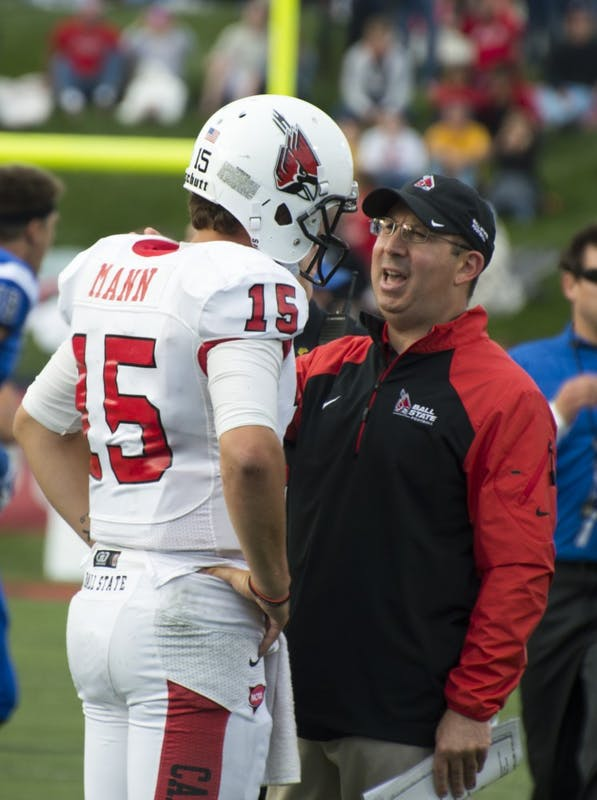 FOOTBALL: Mann benched, Milas to start