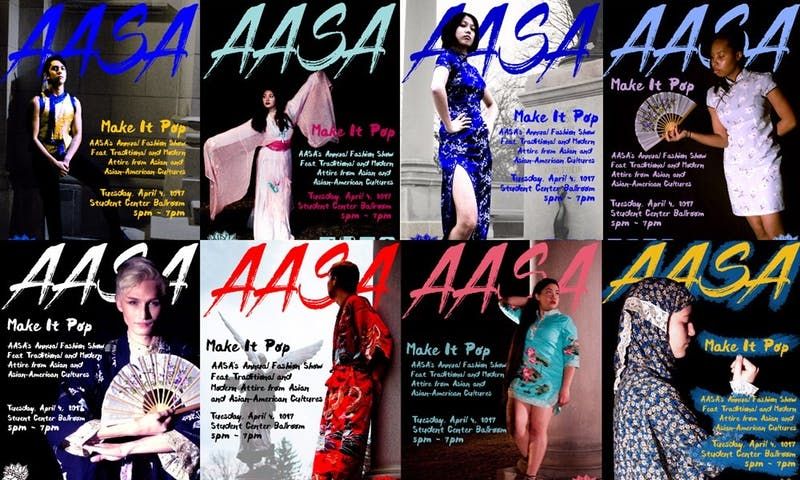 """Make It Pop on April 4 is one of the """"I Am Visible"""" week of events put on by the Asian American Student Association.The AASA Cultural Festival aims to bring student members together to celebrate Asian culture. Benny Link AASA // Photo Courtesy"""