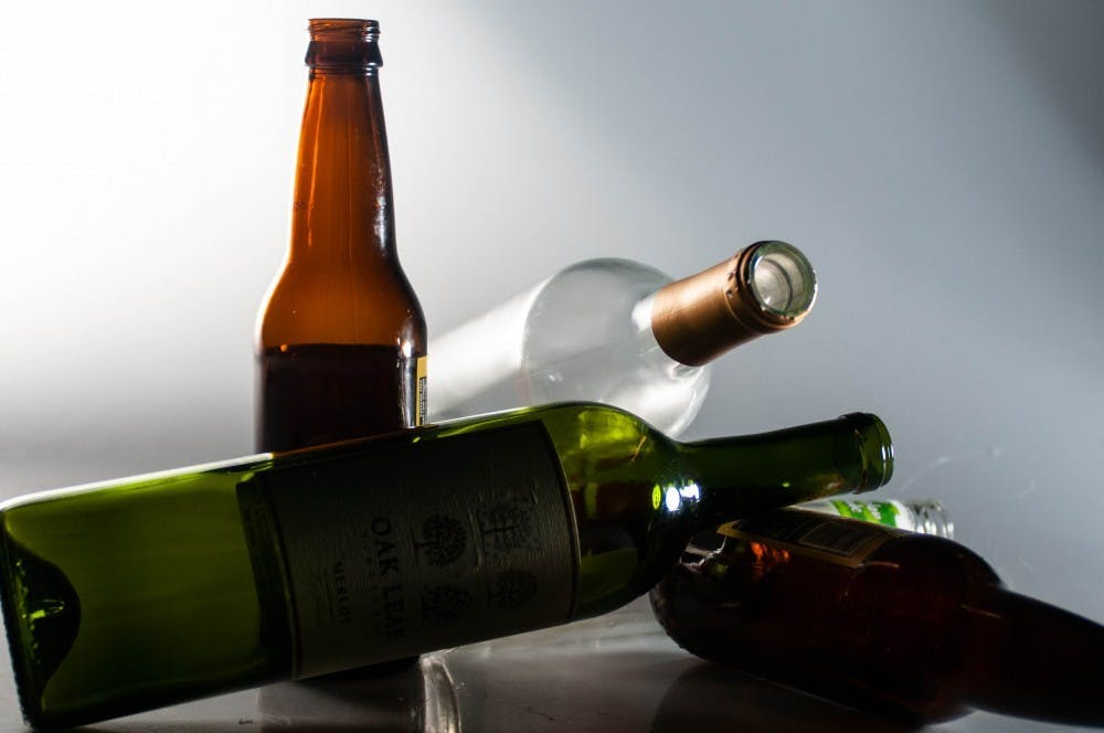 <p>Ball State's biennial review of the Alcohol and Other Drug Abuse Prevention Program was released to the campus community early January. The review states students who reported binge drinking have reduced almost 20 percent from 2015 to 2017.<strong> Madeline Grosh, DN File</strong></p>