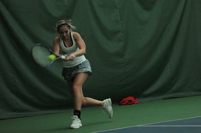 Ball State women's tennis players find inspiration in Australian Open