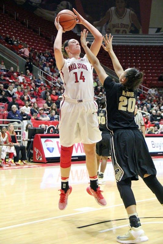 RECAP: Ball State women's basketball vs. Purdue