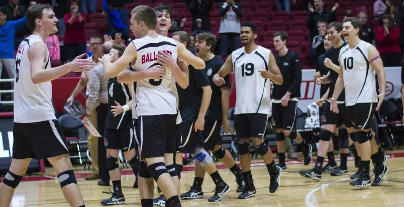 Ball State men's volleyball stretches win streak to four with two road wins