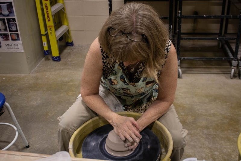 Art professor offers weekly pottery class for students, Muncie residents
