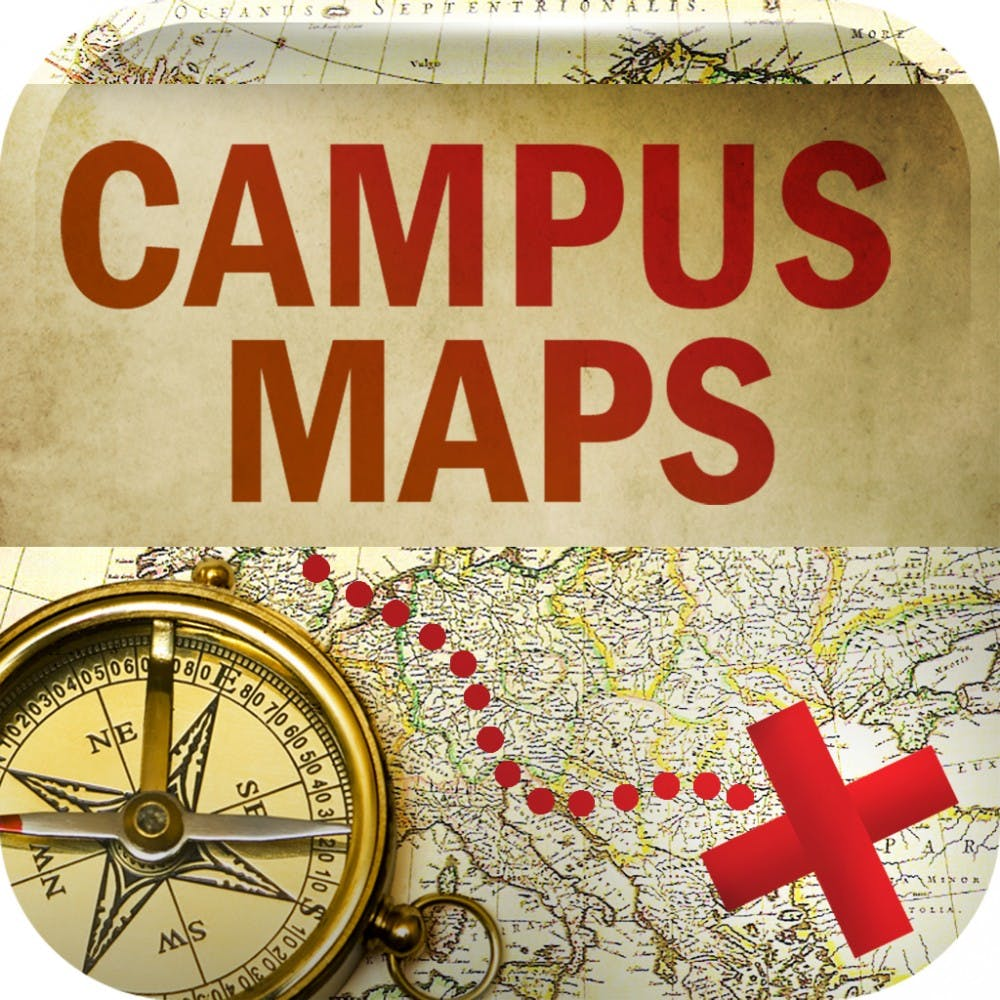 <p>Campus map is solely used for navigating through campus. It originally started in University ofMaryland and has Ball State.PHOTO PROVIDED BY JACQUI SCHLBACH</p>