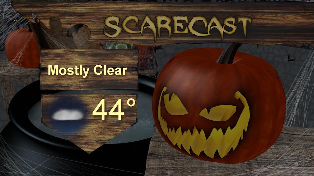 Cool Halloween weekend ahead