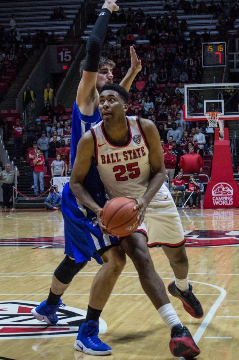 Offense shines in Ball State's exhibition win over Saint Francis