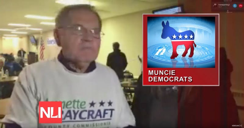 Newslink: Live from the Delaware County Democrats watch party