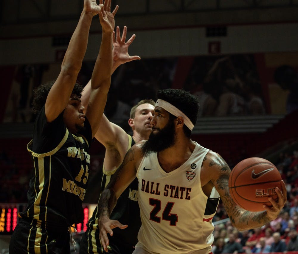 Moses' block, play in paint give Ball State Men's Basketball win