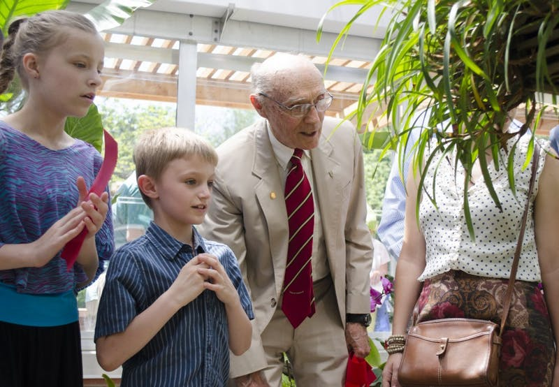 Ball State dedicates new greenhouse