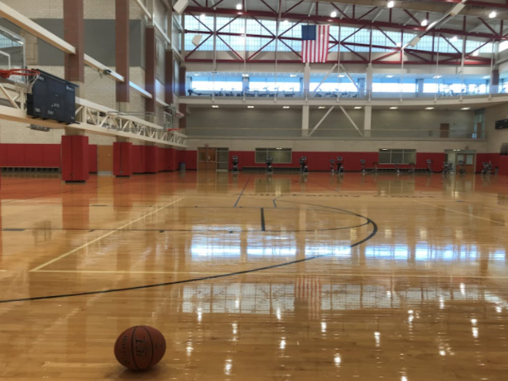 At 2 p.m. on Monday, people would typically be using the basketball courts. Now they are empty and locked because of the new hours.