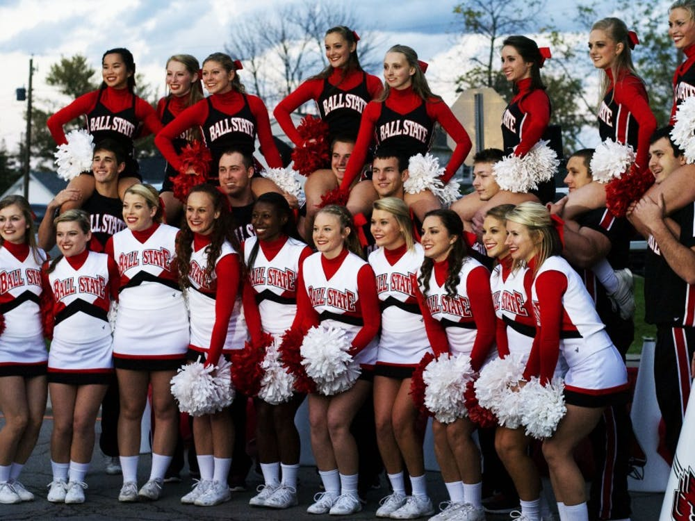 Homecoming Village kicked off Homecoming Week on Oct. 6 near the Village.
