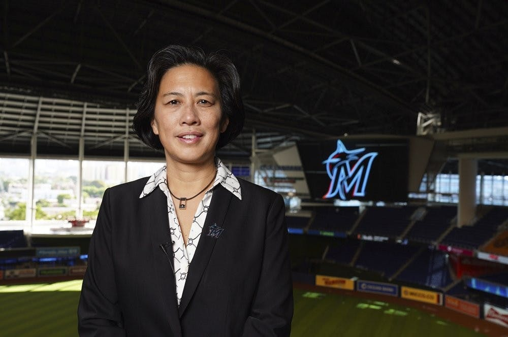 Smith: Miami Marlins break MLB's glass ceiling with the hiring of Kim Ng