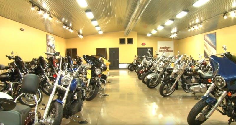 Muncie motorcycle dealer pushes through the winter off-season, despite slower sales