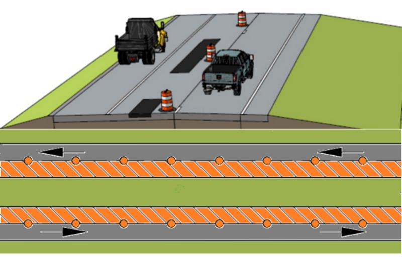E & B Paving will be performing a $16 million construction project on more than 12 miles of highway between New Castle and Muncie on State Road 3 starting today. PHOTO PROVIDED
