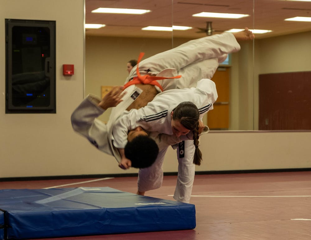 Participation in Ball State's Judo club is on the rise, and it's not just the men