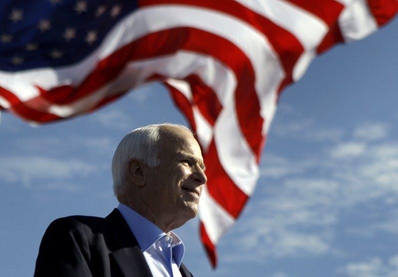 War hero and presidential candidate John McCain has died