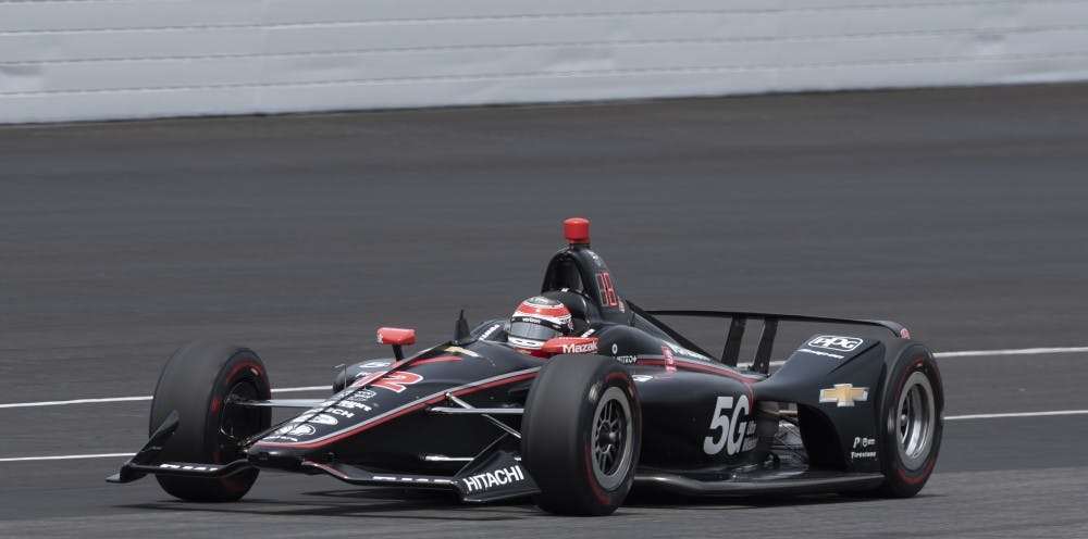 "Will Power practices during ""Fast Friday"" at Indianapolis Motor Speedway May 17, 2019. Power won both the Indy 500 and IndyCar Grand Prix in 2018. Stephanie Amador, DN"
