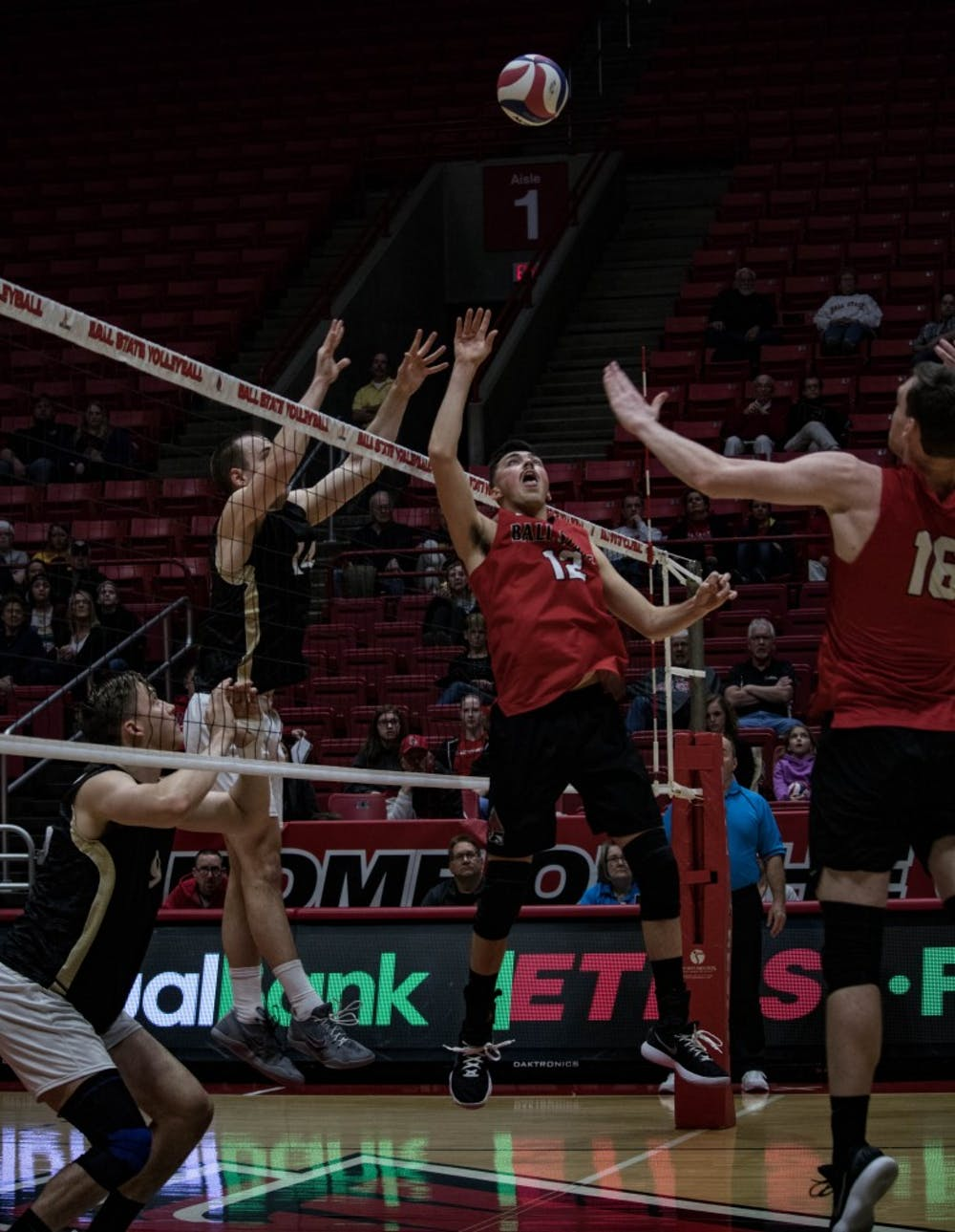 No. 13 Ball State Men's Volleyball struggles with serving, passing against No. 15 Purdue Fort Wayne