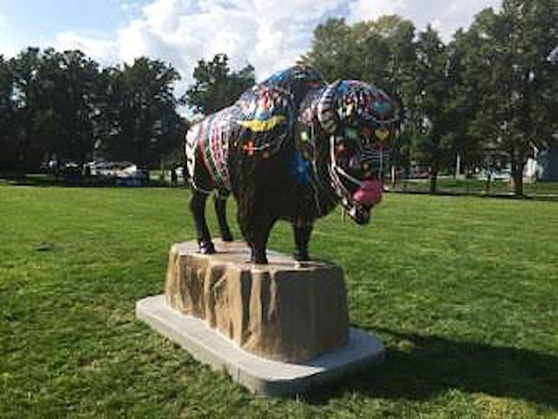 Muncie celebrates 'Bison-tennial' with new addition