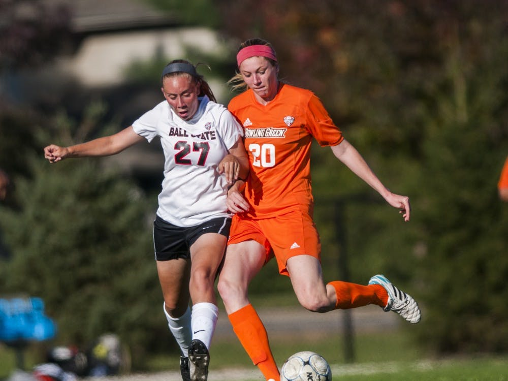 The Ball State soccer team took on Bowling Green on Sept. 26 at the Briner Sports Complex. Ball State won 5-0.