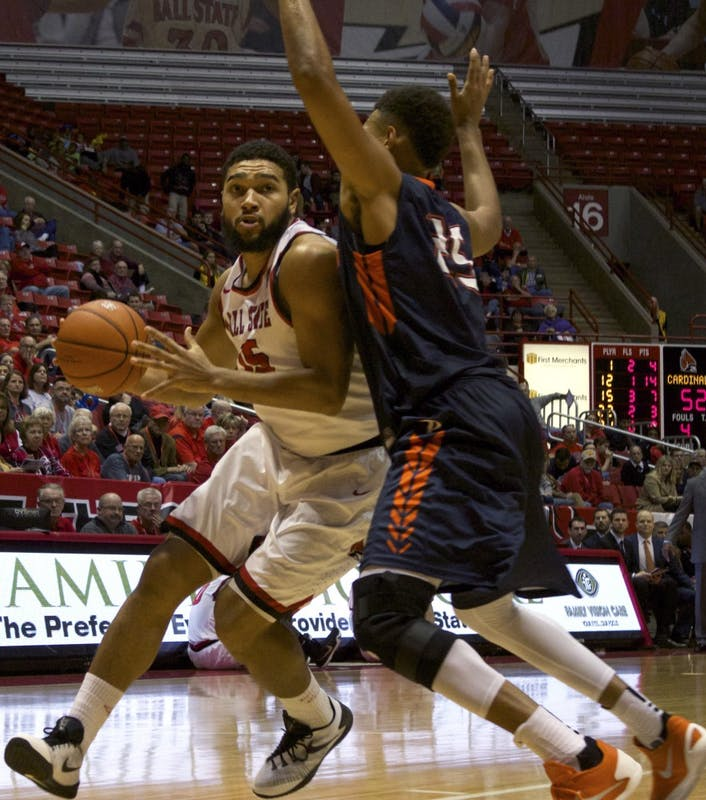 Ball State men's basketball moves to top of MAC West Division