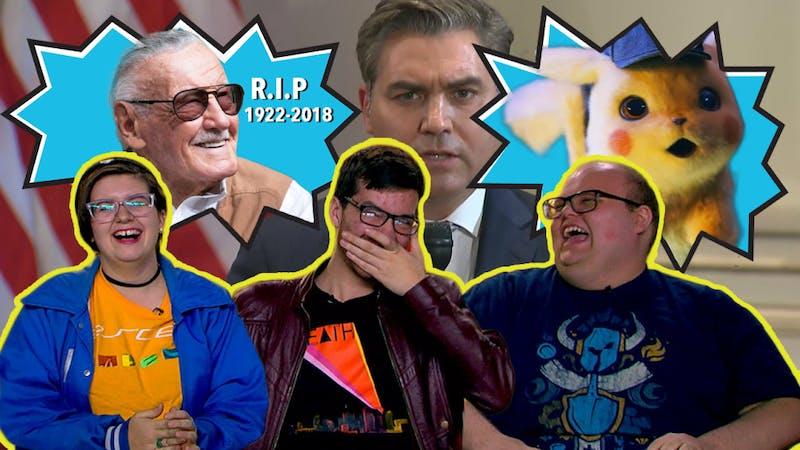 Stan Lee's Legacy in Question, White House Banning Press, Will Detective Pikachu Fail | Pop Tabs